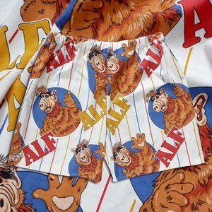 Custom Reworked Vintage ALF Shorts Unisex